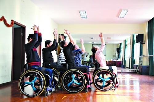 轮椅上的舞蹈人生